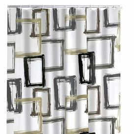 image-Binne Shower Curtain Ebern Designs