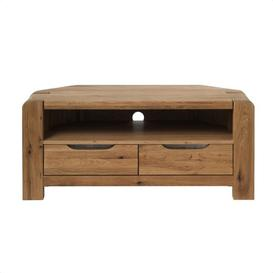 image-Imola Oak Corner TV Unit