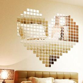 image-Mosaics Mirror Wall Sticker East Urban Home
