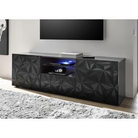 image-Prisma (grey) 2 door 1 drawer TV unit