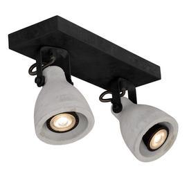 image-Concri 2-Light 29cm LED Ceiling Spotlight Lucide