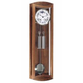 image-Hermle Mornington Pendulum Wall Clock Hermle Colour: Walnut