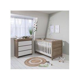 image-Tutti Bambini Modena Cot Bed 2 Piece Nursery Set