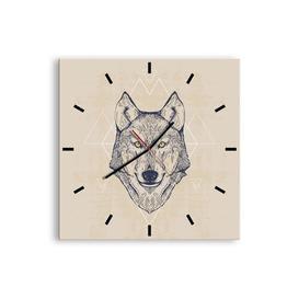 image-Featherste Silent Wall Clock Union Rustic Size: 50cm H x 50cm W x 0.4cm D