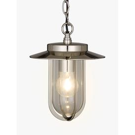 image-Astro Montparnasse Outdoor Pendant Porch Light, Polished Nickel