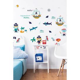image-Walltastic Pirate Wall Stickers