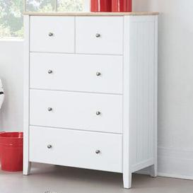 image-Jonah 5 Drawer Chest The Children's Furniture Company