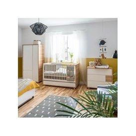 image-Vox Evolve Cot Bed 3 Piece Nursery Furniture Set