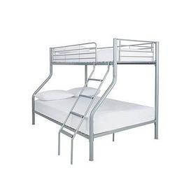 image-Domino Metal Trio Bunk Bed  - Bed Frame Only