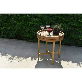 image-Aleigh Teak Side Table Sol 72 Outdoor