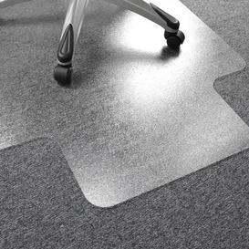 image-Carpet Straight Edge Chair Mat Floortex Size: 115cm x 134cm