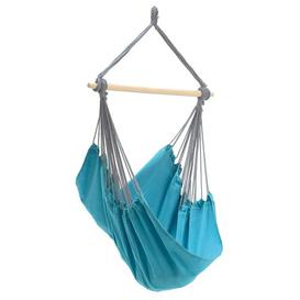 image-Juan Hanging Chair Freeport Park Colour: Aqua