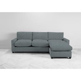 image-Mimi Right Hand Chaise Ottoman Sofa Bed in Caspian Blue