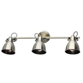 image-Electra 3-Light Wall Spotlight Borough Wharf Finish: Antique Brass