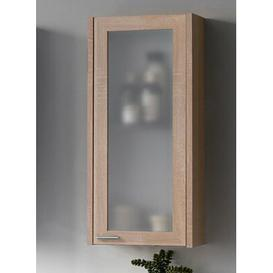 image-Piano 30 x 66cm Wall Mounted Cabinet Belfry Bathroom Finish: Sonoma