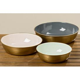 image-Kole 3 Piece Decorative Bowl Set Canora Grey