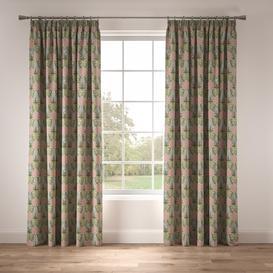image-Lily Garden Eau De Nil Pencil Pleat Room Darkening Thermal Curtains