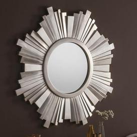 image-Yearn Sunburst Mirror 170x170cm Silver Silver
