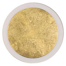 image-Paine 1 -Light LED Flush Mount Ebern Designs Size: 40cm H x 8cm W x 41cm D, Fixture Finish: Sliver