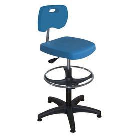 image-Mchale Draughtsman Chair Ebern Designs Colour: Blue