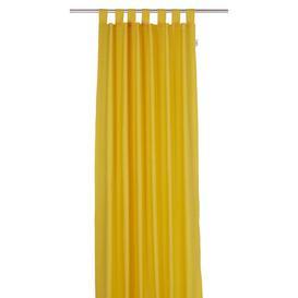 image-T-Dove Tab Top Room Darkening Single Curtain Tom Tailor Colour: Lemon