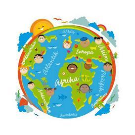 image-Child's World Wall Sticker
