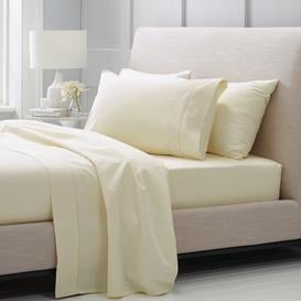 image-1000 Thread Count Flat Sheet Sheridan Size: Emperor (7'), Colour: Chalk