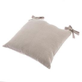 image-Braxton Stripe Stone Seat Pad Natural