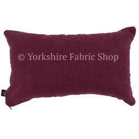 image-James Cushion with Filling Yorkshire Fabric Shop Colour: Wine