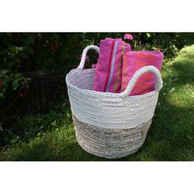 image-Stratford Wicker/Rattan Basket Symple Stuff Size: 38cm H x 35cm W x 35cm D