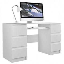 image-Crosby Computer Desk Mercury Row
