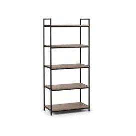 image-Tribeca Tall Bookcase Black/Natural