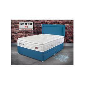 "image-Sleepeezee Perfectly British Mayfair 3200 Pocket Divan Set - Super King Zip & Link (6' x 6'6\""), No Storage, Sleepeezee_Tweed Grey"
