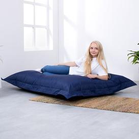 image-Giant Floor Bean Bag Lounger Mack + Milo