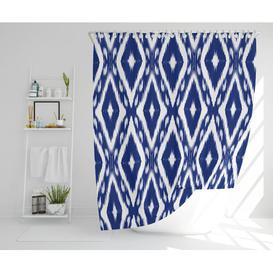 image-Sigfrid Polyester Shower Curtain Set Bloomsbury Market Size: 177cm H x 210cm W