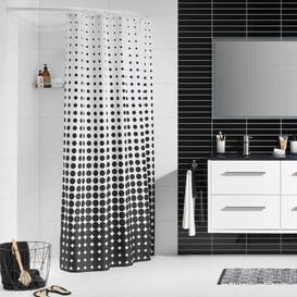 image-Sealskin Shower Curtain Mercury Row