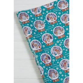 image-10m Snow Globe Christmas Wrapping Paper