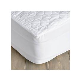 image-Teflon Stain Resistant Mattress Protector White