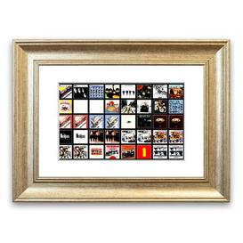 image-'The Beatles Album Cover Cornwall' - Picture Frame Photograph Print on Paper East Urban Home Size: 30cm H x 40cm W x 1cm D, Frame Option: Silver