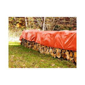 image-Extra Tear Resistant 140g/m┬▓ Tarpaulin Cover WFX Utility Colour: Orange