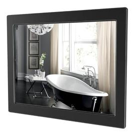 image-Delilah Bathroom Mirror ClassicLiving Finish: Black/Silver