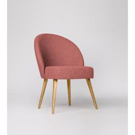 image-Swoon Toledo Armchair in Pimpernel Smart Wool With Light Feet