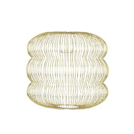 image-Habitat Jorge Easy-to-Fit Brass Ceiling Shade