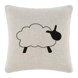 image-Retreat - Kids Knitted Cushion - 40x40cm - Sheep
