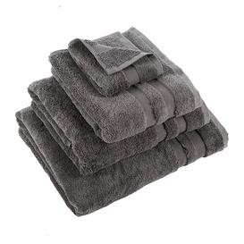 image-Essentials - Pima Towel - Charcoal - Face Cloths - Set of 3