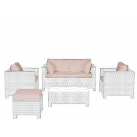 image-9 Piece Patio Sofa Cover Set Dakota Fields