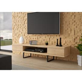 """image-Larned TV Stand for TV up to 70"""" Ebern Designs Colour: Natural"""