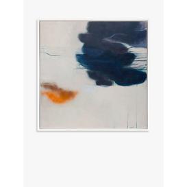 image-Ele Pack - 'Ukiyo' Framed Canvas, 94 x 94cm, Blue/Multi
