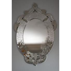 image-Oval Mirror Willa Arlo Interiors