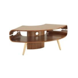 image-Jual Havana Walnut Furniture Corner TV Unit